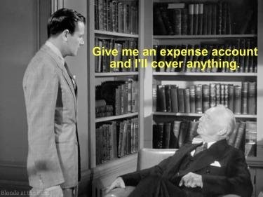 Foreign Correspondent expense account