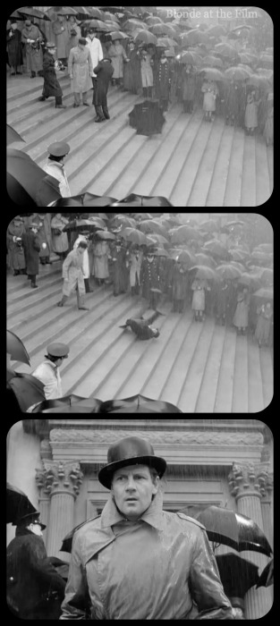 Foreign Correspondent Joel McCrea assassination 3 filmstrip