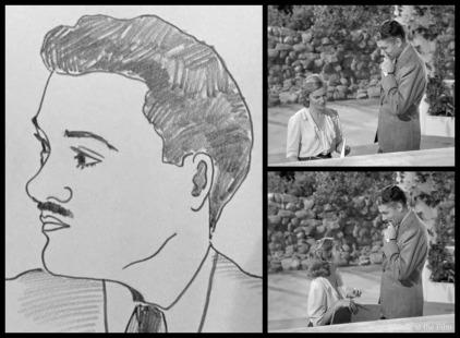 Rebbeca Olivier and Fontaine sketch