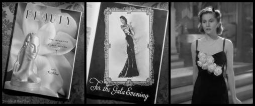 Rebecca Fontaine black dress
