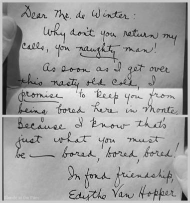 Rebecca letter