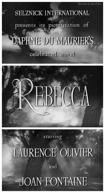 Rebecca titles