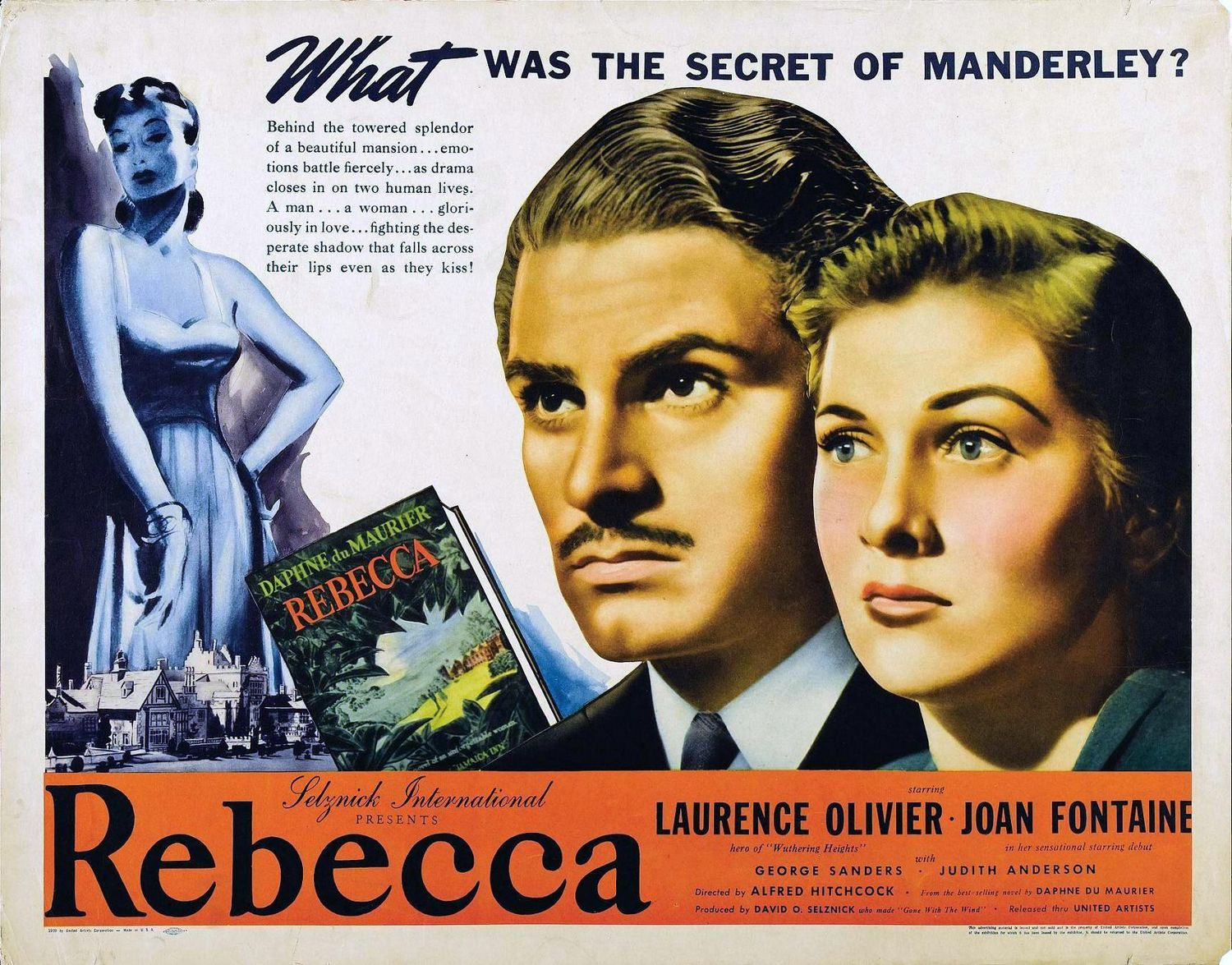 Rebecca (1940) – The Blonde at the Film