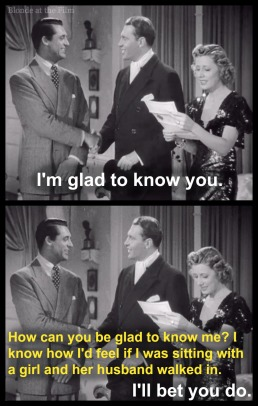 Ex-spouses in The Awful Truth