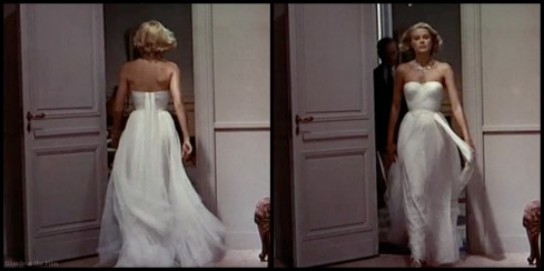 To Catch a Thief Grace Kelly white dress