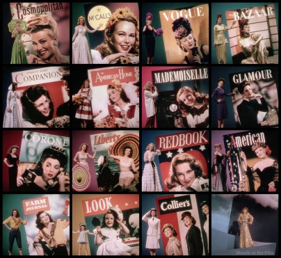 Cover Girl magazine covers
