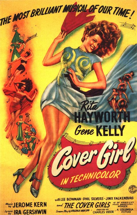 Cover Girl 1944 The Blonde At The Film