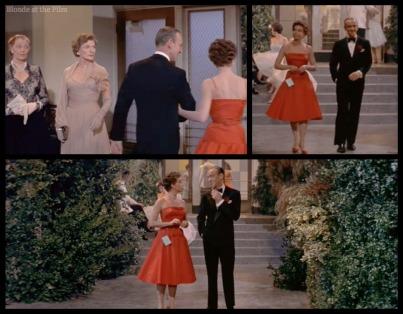 Daddy Long Legs Astaire Caron walk to garden