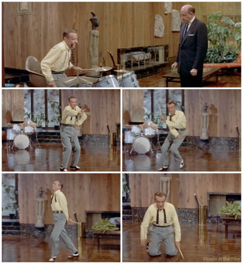 Daddy Long Legs Fred Astaire drum solo