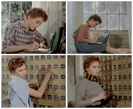 Daddy Long Legs leslie caron writing letters