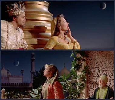 Kismet- Ann Blyth and Vic Damone moon 2