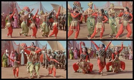 Kismet-princess arrival dance