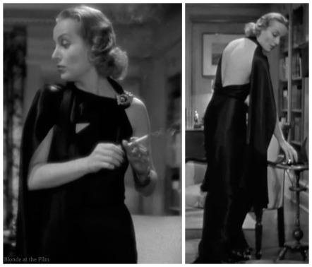 Love Before Breakfast Carole Lombard black dress