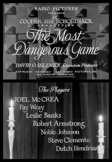 Most Dangerous Game titles