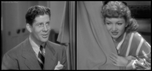 Palm Beach Story Claudette Colbert joke