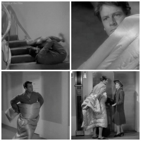 Palm Beach Story Joel McCrea fall