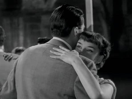 Roman Holiday Audrey Hepburn G Peck dance 3