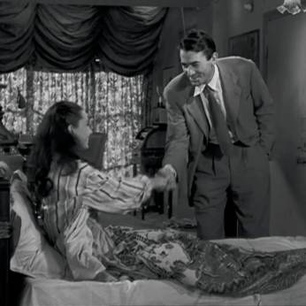 Roman Holiday Audrey Hepburn G Peck handshake