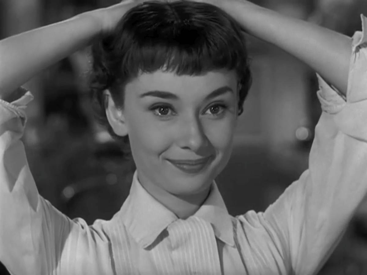 Roman Holiday Audrey Hepburn Haircut 2 The Blonde At The Film