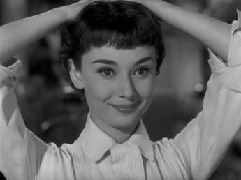Roman Holiday Audrey Hepburn haircut 2