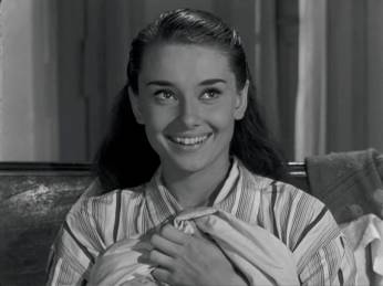 Roman Holiday Audrey Hepburn morning