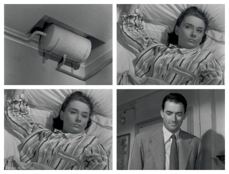 Roman Holiday Bed gazes 2