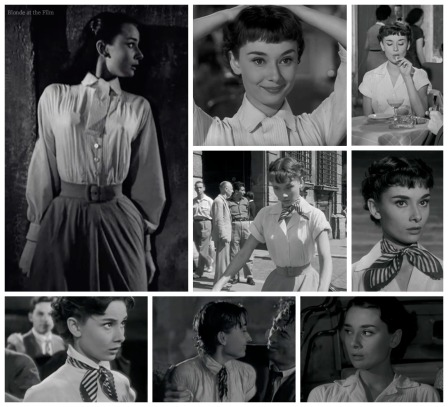 Roman Holiday costume evolution