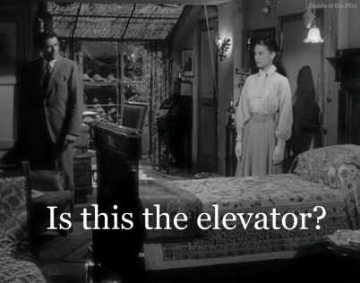 Roman Holiday elevator