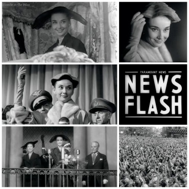 Roman Holiday News Flash