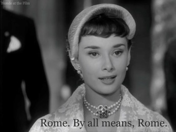 Rome Roman Holiday Audrey Hepburn