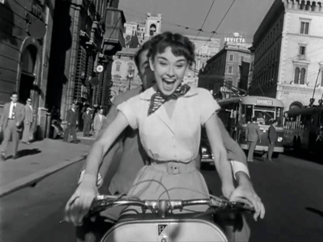 Roman Holiday 1953 The Blonde At The Film