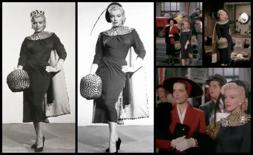 Left: http://missingmarilyn.tumblr.com/post/14100727626/marilyn-monroe-costume-test-for-gentlemen-prefer Right: http://wwwbloggercomartescasanova.blogspot.com/2012_12_16_archive.html