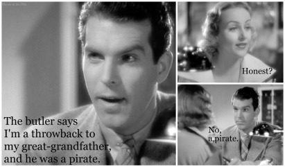 MacMurray in the screwball comedy Hands Across the Table (1935)