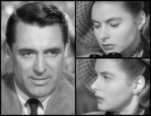 Notorious Cary Grant Ingrid Bergman at the races 2