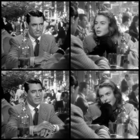 Notorious Cary Grant Ingrid Bergman cafe