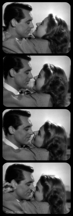 Notorious Cary Grant Ingrid Bergman film strip