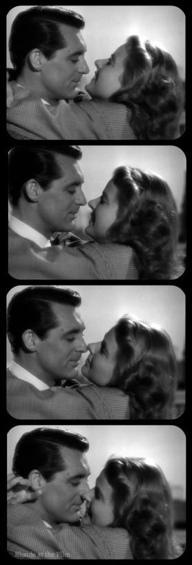 Notorious Cary Grant Ingrid Bergman film strip