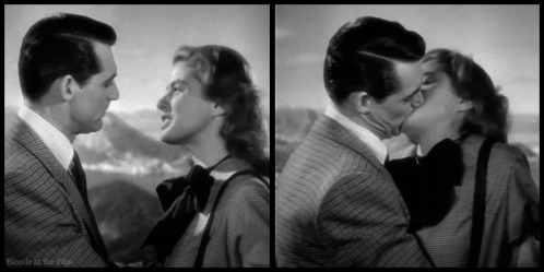 Notorious Cary Grant Ingrid Bergman first kiss