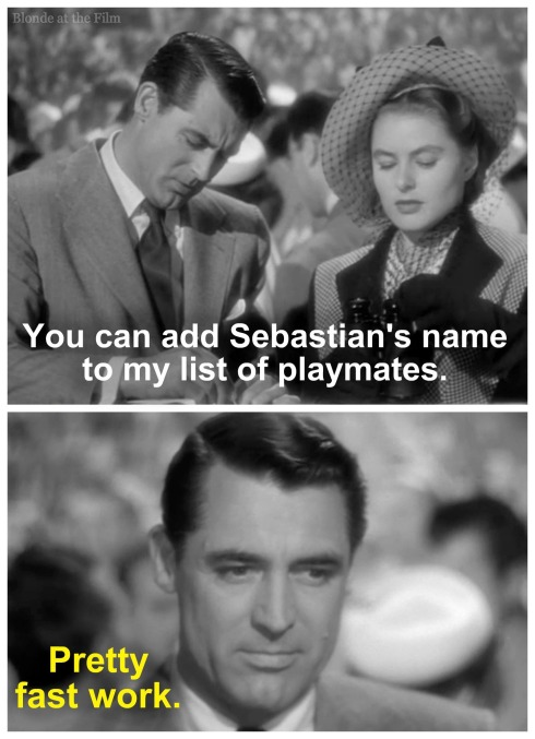 Notorious Cary Grant Ingrid Bergman list text 2