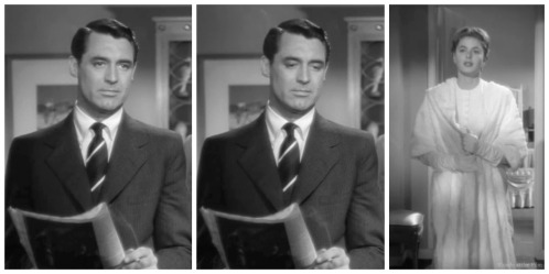 Notorious Cary Grant Ingrid Bergman up and down