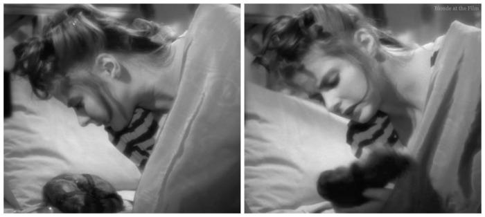 Notorious Ingrid Bergman hair
