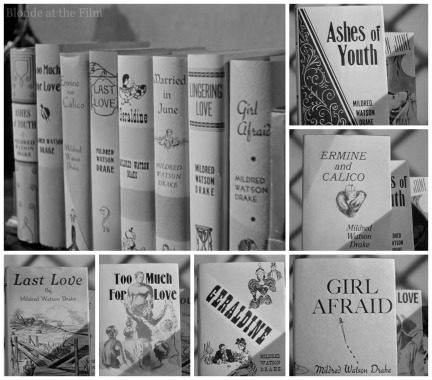 Miriam Hopkins' novels in Old Acquaintance