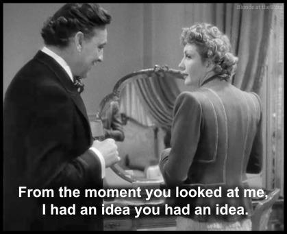 Midnight Barrymore Colbert idea