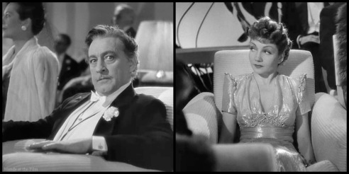 Midnight Colbert Barrymore gaze