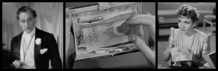 Midnight Colbert Barrymore purse