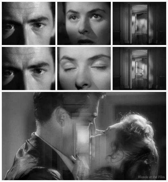 Spellbound Bergman Peck kiss doors