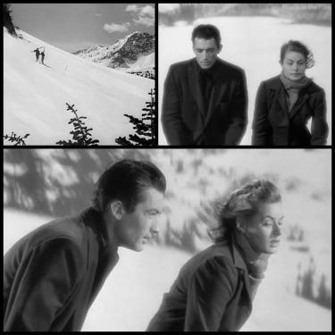 Spellbound Bergman Peck skiing