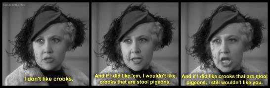 Thin Man stool pigeon