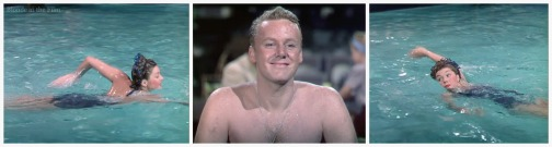 Thrill of a Romance Esther Williams and Van Johnson blue suit