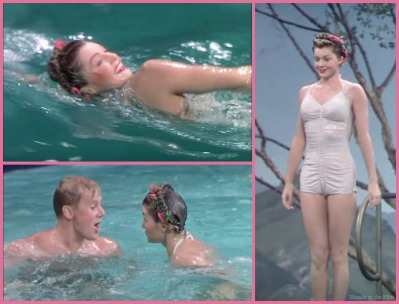 Thrill of a Romance Esther Williams and Van Johnson white suit